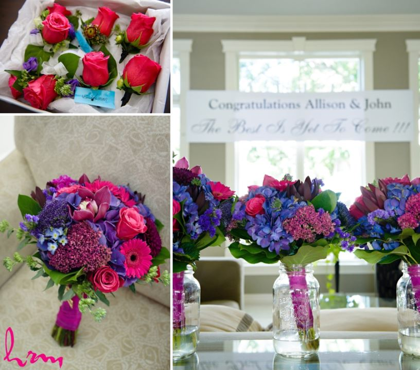 Wedding bouquets and corsages