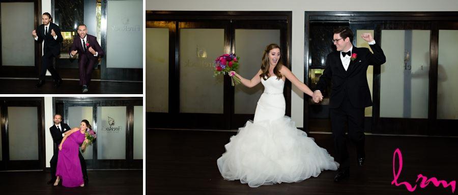 wedding party entrances