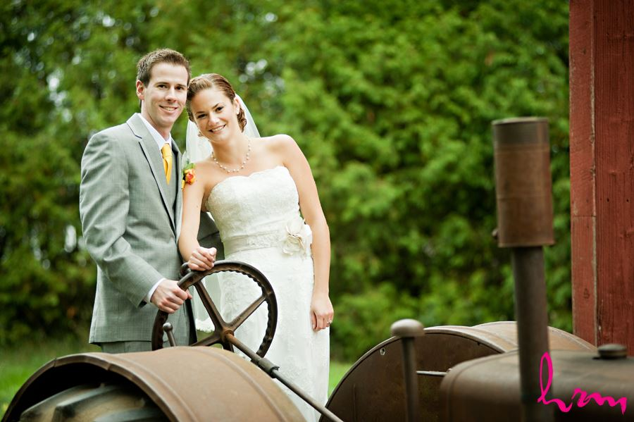 bride and groom close up in london ontario