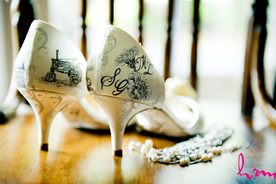 bridal details yellow and white kate spade shoes