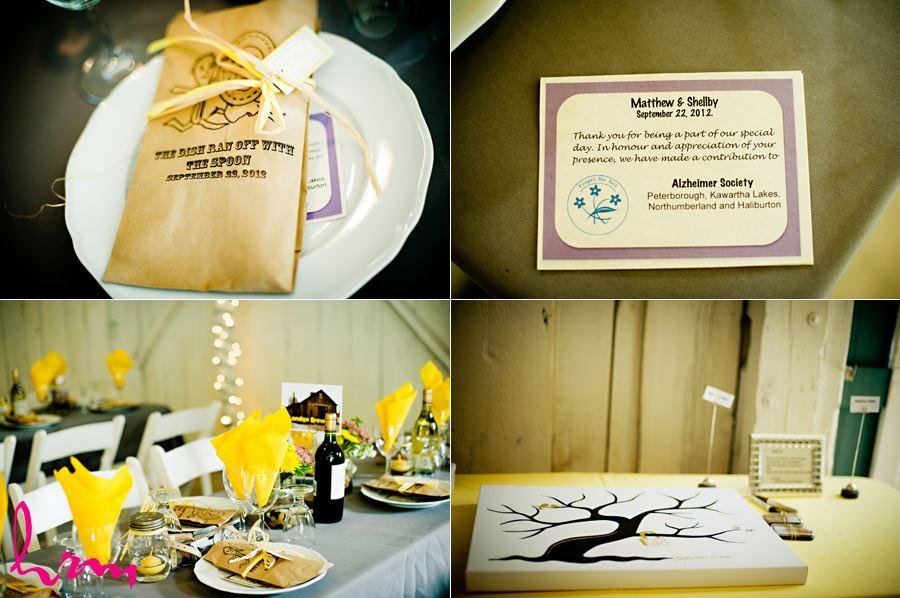 london ontario fanshawe pioneer village wedding reception details
