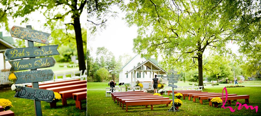 London Ontario Barn Wedding Fanshawe Pioneer Village Reception Details