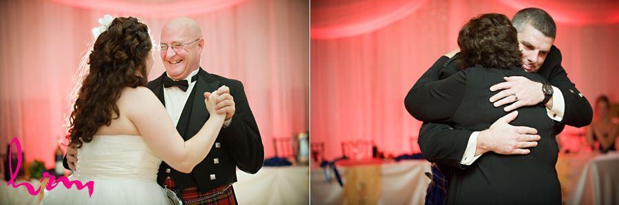 parent dances at the reception
