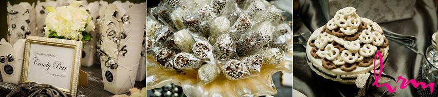 wedding bling candy bar