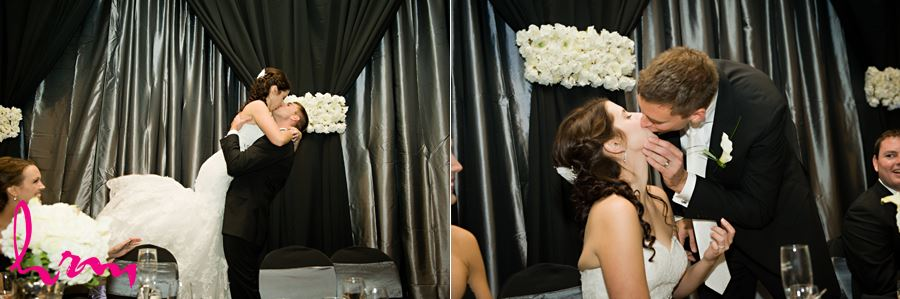 bride and groom kissing game kisses