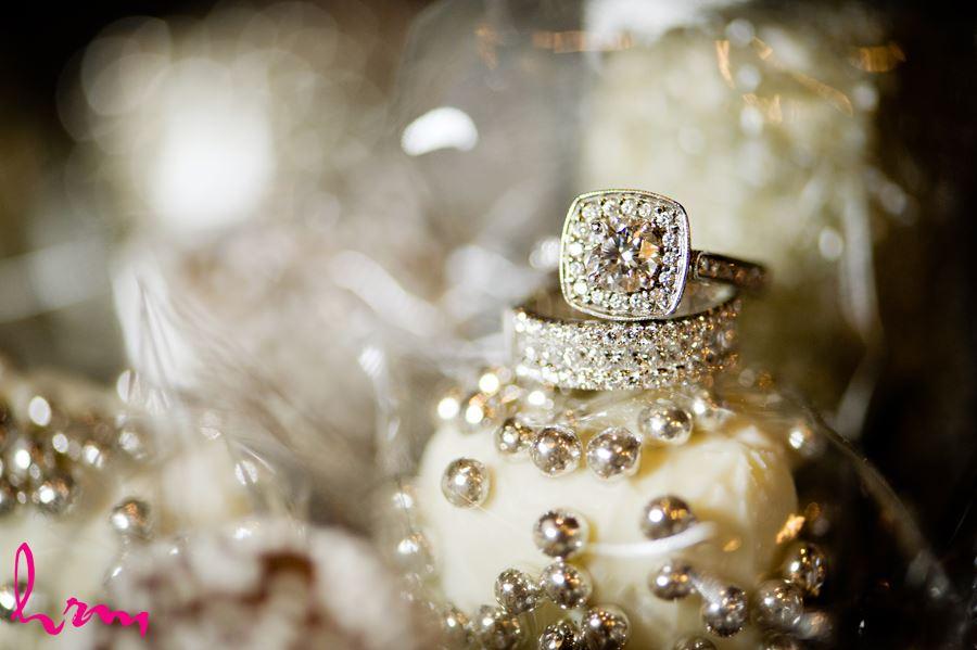 london wedding rings close up