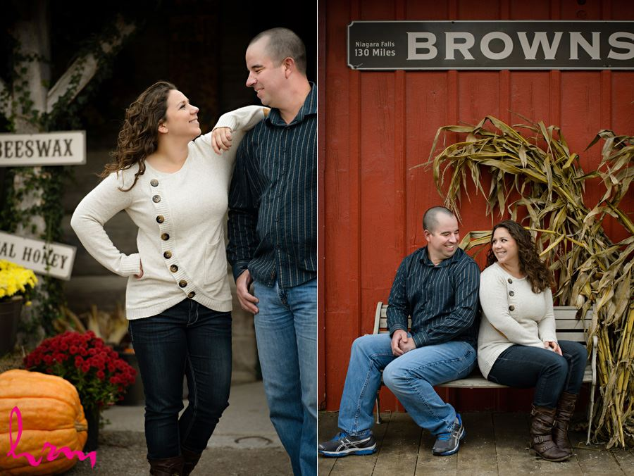 Paula & Mark's Engagement Photo shoot in Aylmer Ontario, May 2015