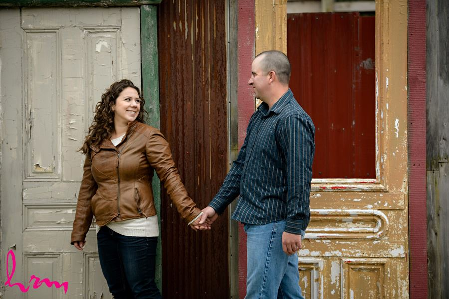 Paula & Mark's Engagement Photo shoot in Aylmer Ontario.