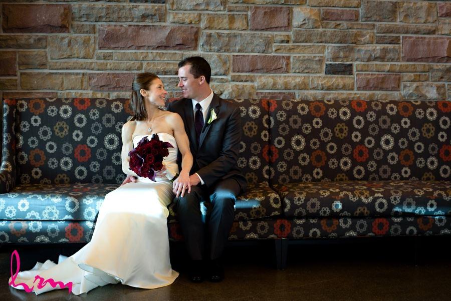 Bride and groom Beamsville wedding Redstone Winery