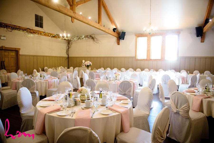 Bellamere Winery wedding reception