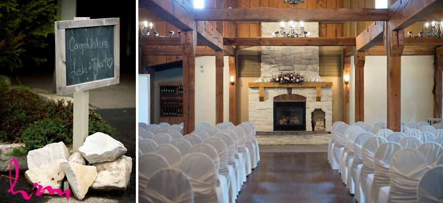 bellamere winery wedding ceremony