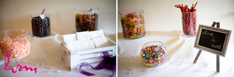 candy station wedding