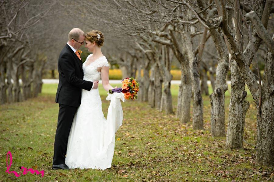 fall november bellamere winery wedding london ontario