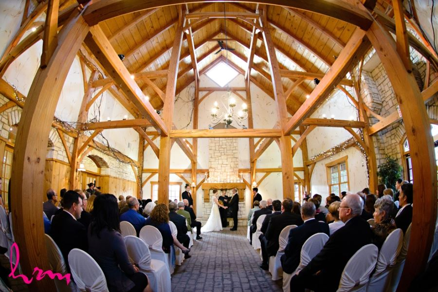 bellamere winery wedding ceremony
