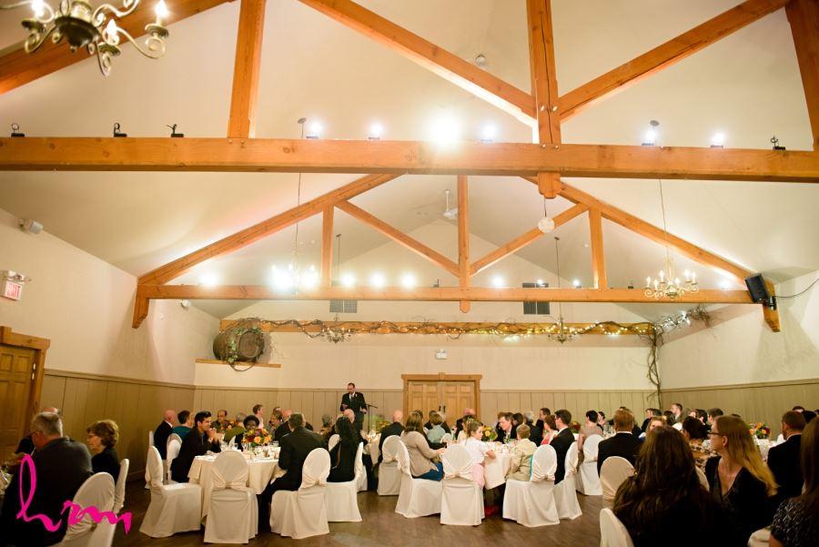 bellamere winery wedding reception london ontario