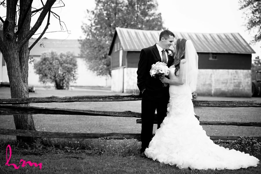 bride and groom wedding photography blyth ontario