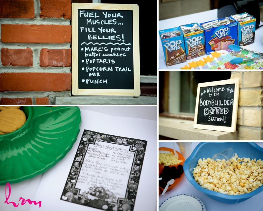 fun wedding reception food ideas pop tarts popcorn