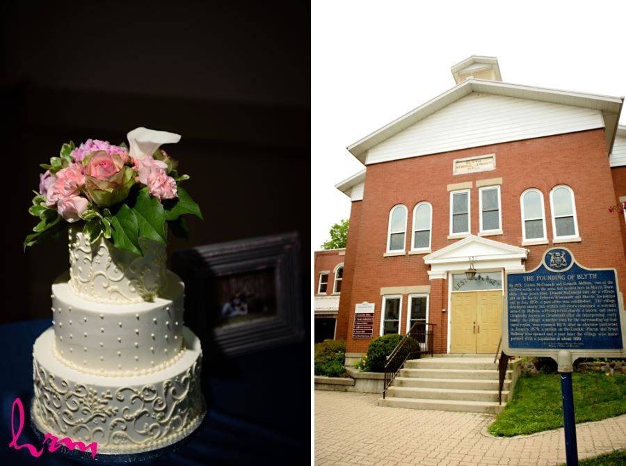blyth ontario wedding event reception location