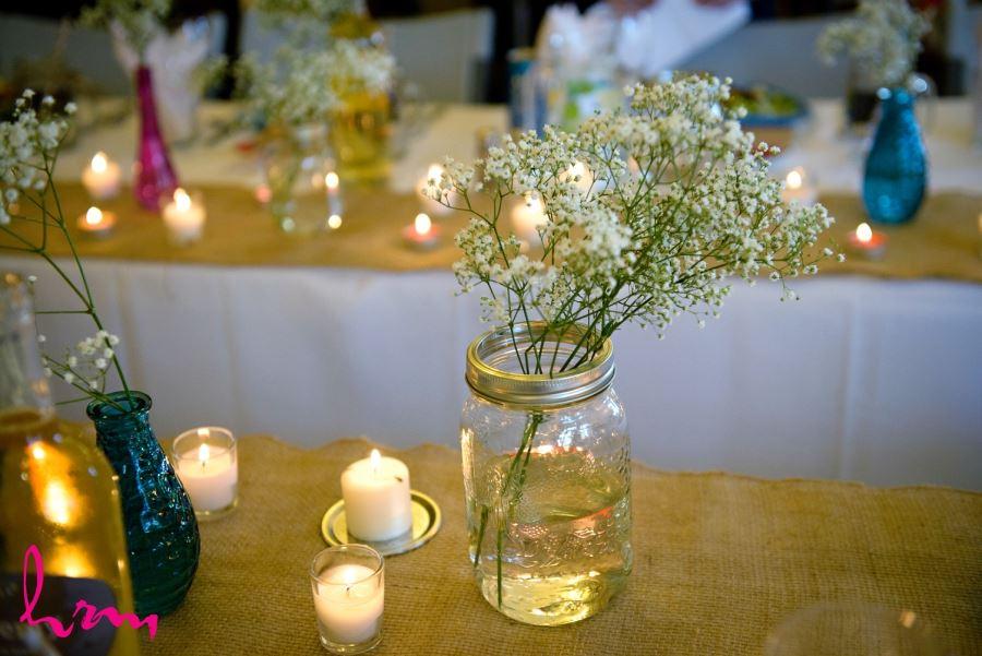 simple pretty easy wedding reception decor