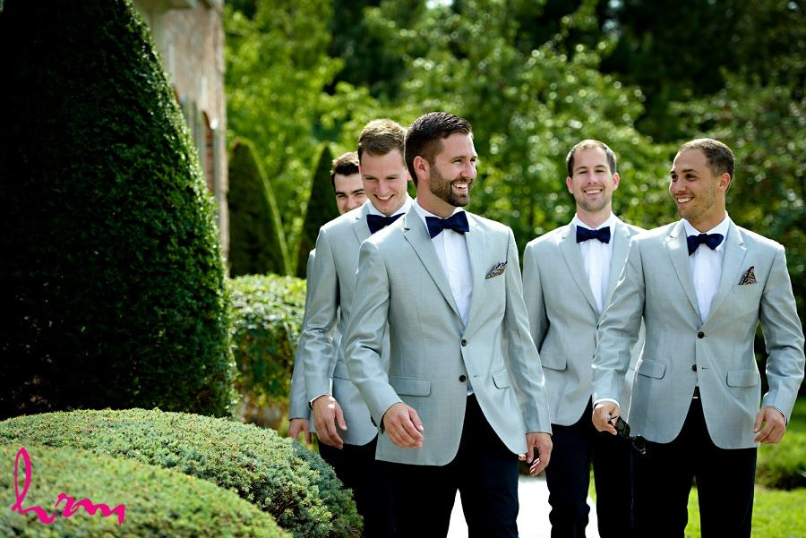 Photo of groomsmen before wedding taken by HRM Photography London Ontario Wedding photographer