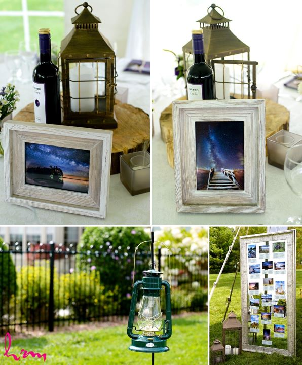 Wine and lantern taken by HRM Photography London Ontario Wedding photographer