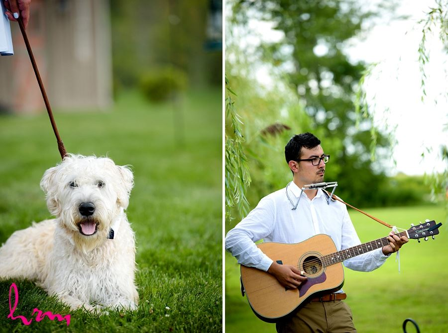 Photo of musician taken by HRM Photography London Ontario Wedding photographer