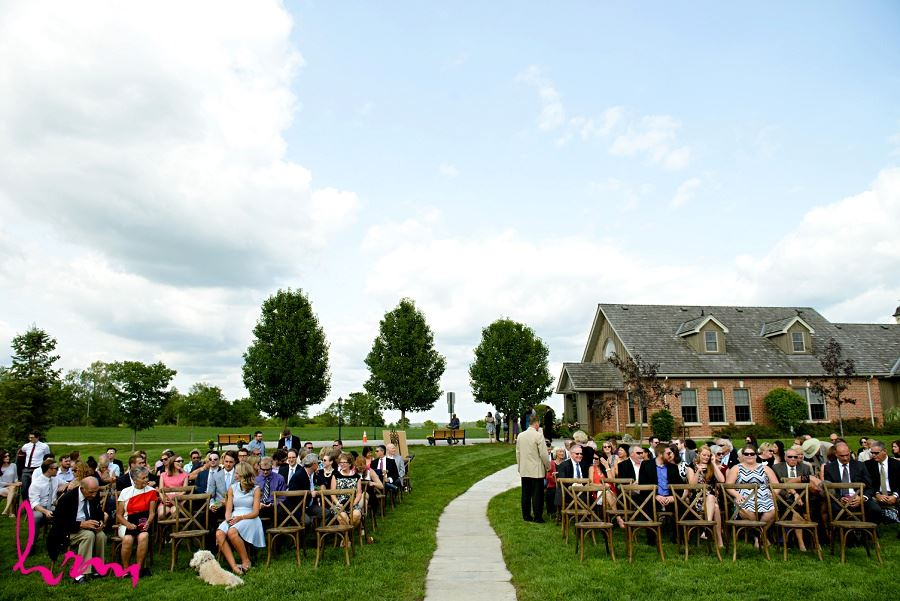Waiting for the ceremony taken by London Ontario Wedding Photographer