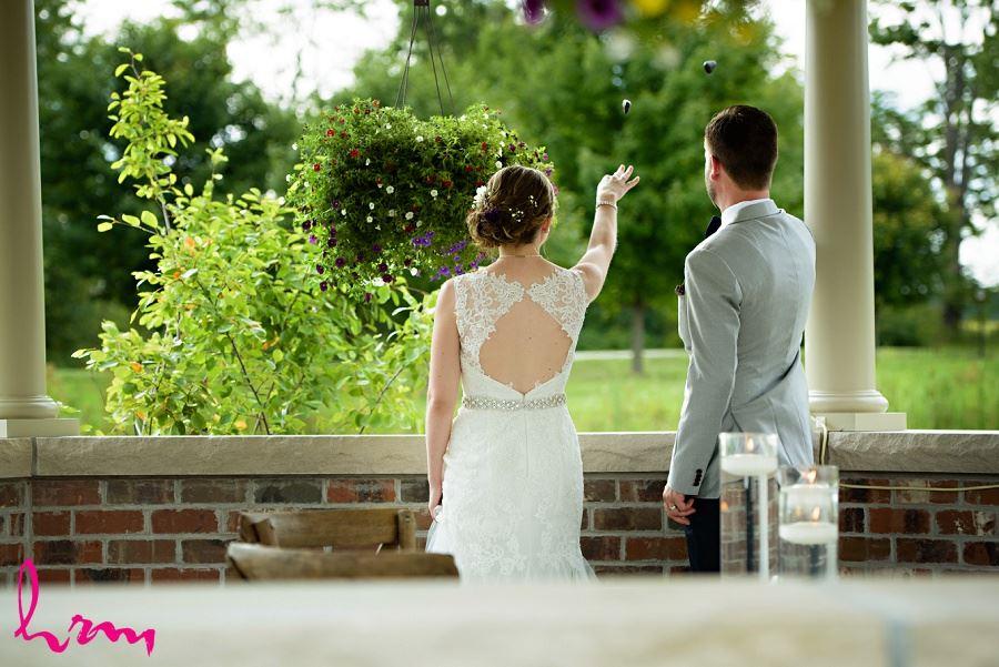 Photo of Celtic stone symbol taken by HRM Photography London Ontario Wedding Photographer
