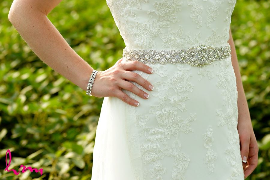 Photo of bride's jewellery by London Ontario Wedding Photographer