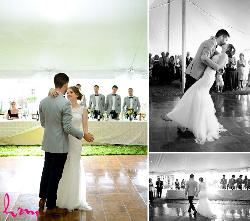 Photos of Claude and Jason's first dance taken by HRM Photography London Ontario Wedding Photographer