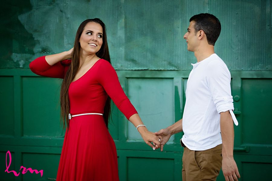 Jessica and Ahmad taken during London Ontario engagement photography session by HRM Photography