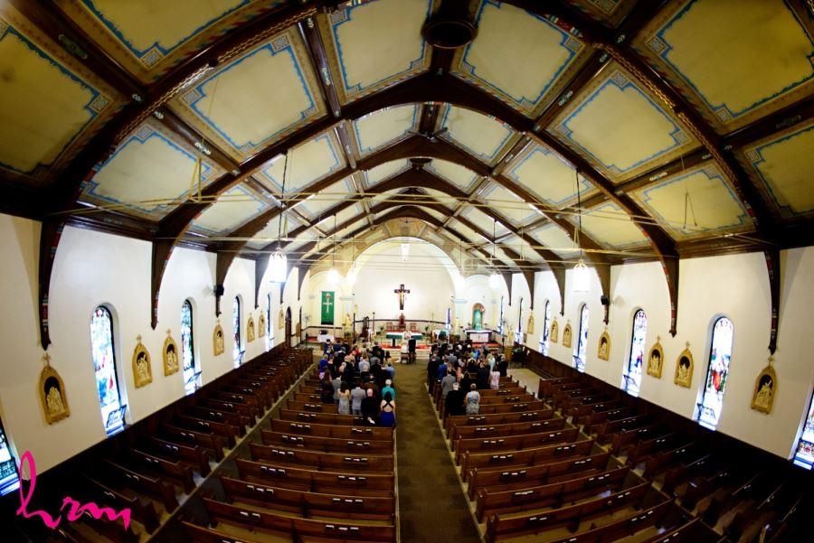 St Francis-St.Martins Parish london ontario wedding ceremony
