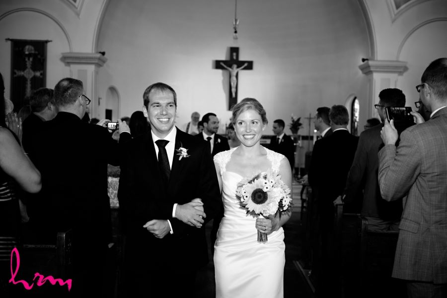 St Francis-St.Martins Parish processional london ontario wedding photography