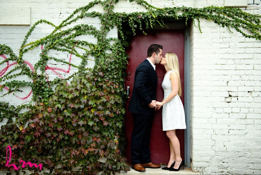 ivy wall urban engagement photography downtown london ontario