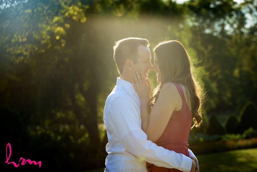 beautiful summer engagement photography image