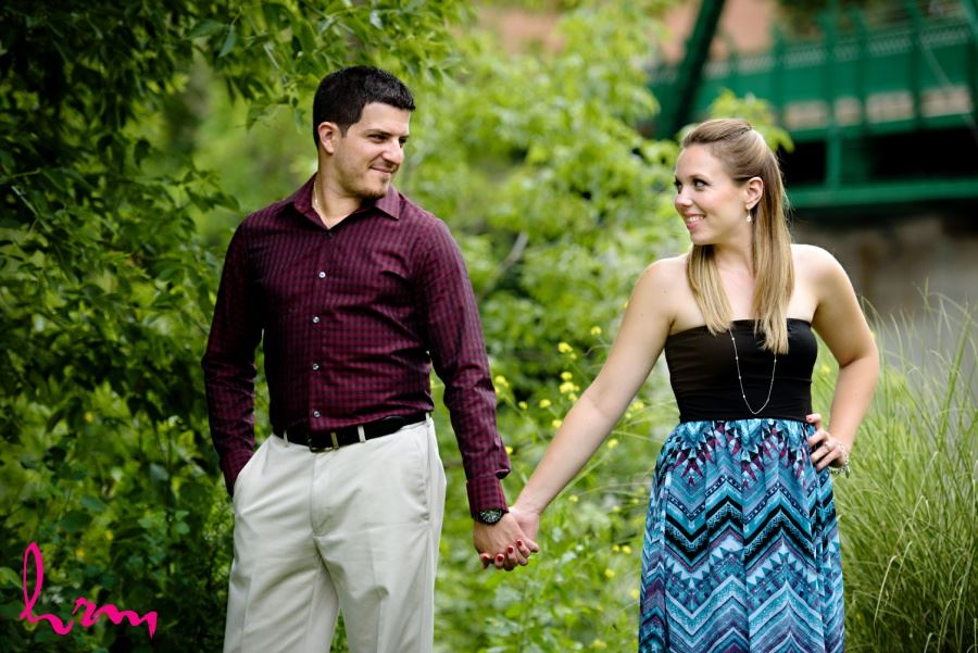 Springbank Park London Ontario engagement session