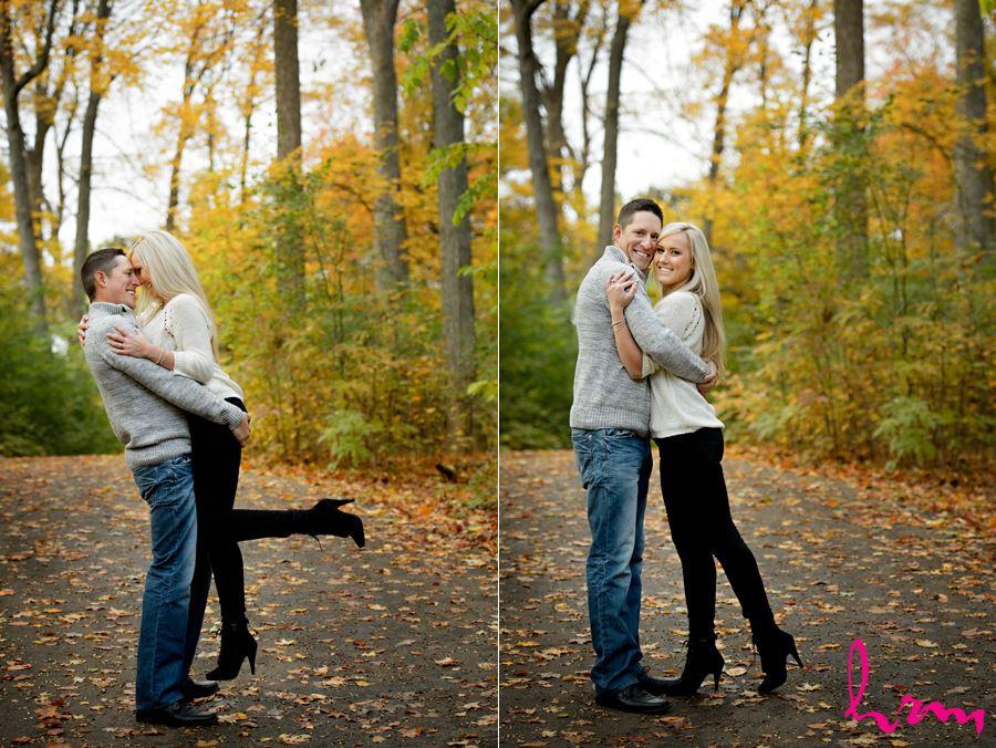 Beautiful engagement photos in London Ontario