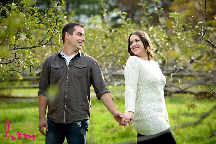 london ontario engagement session outdoors