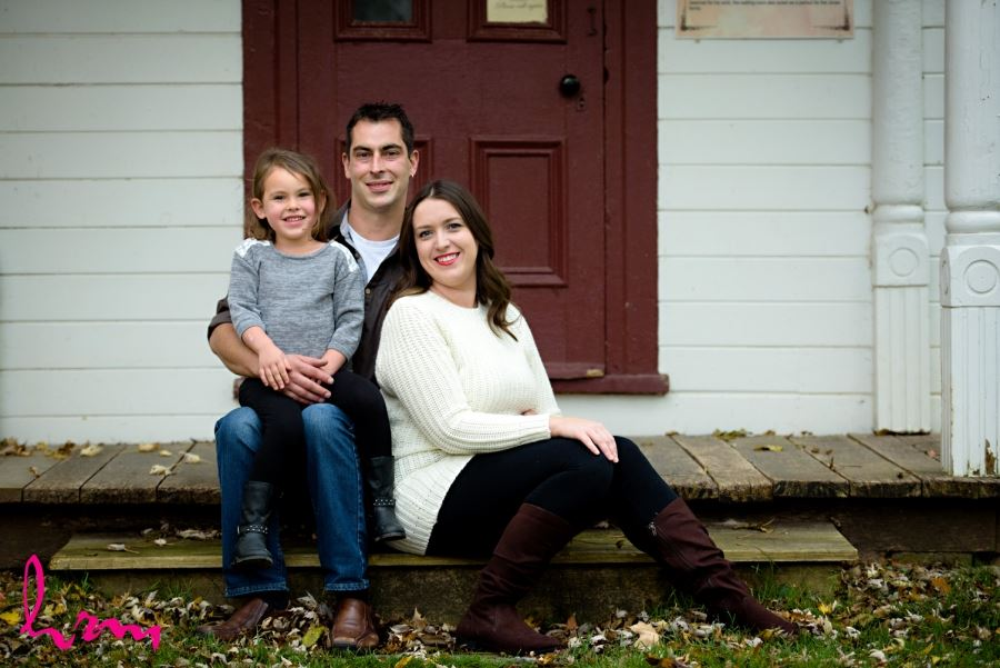 engagement session with family kids included