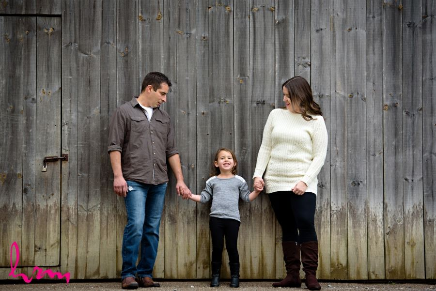 london ontario engagement session with kids