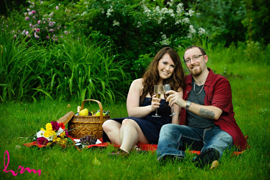 Laurie and Ryan's Engagement Photos, taken in London Ontario.