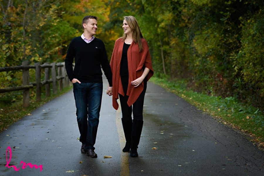 fall engagement session london ontario