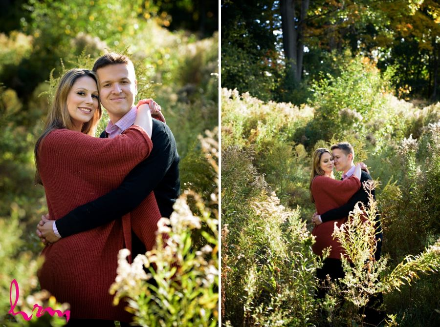 engagement session in meadow london ontario