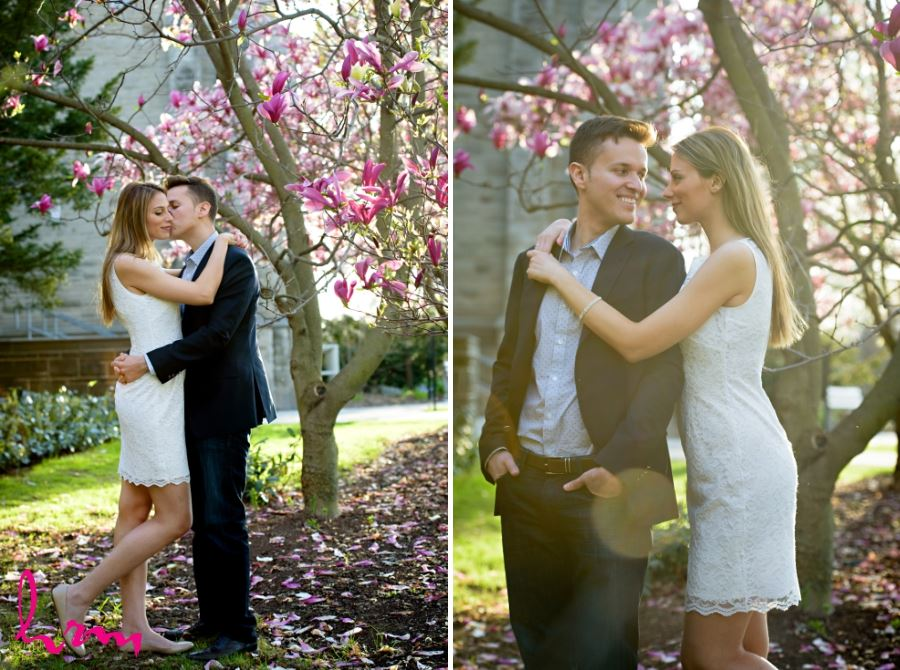 simple spring engagement session outfit inspiration idea
