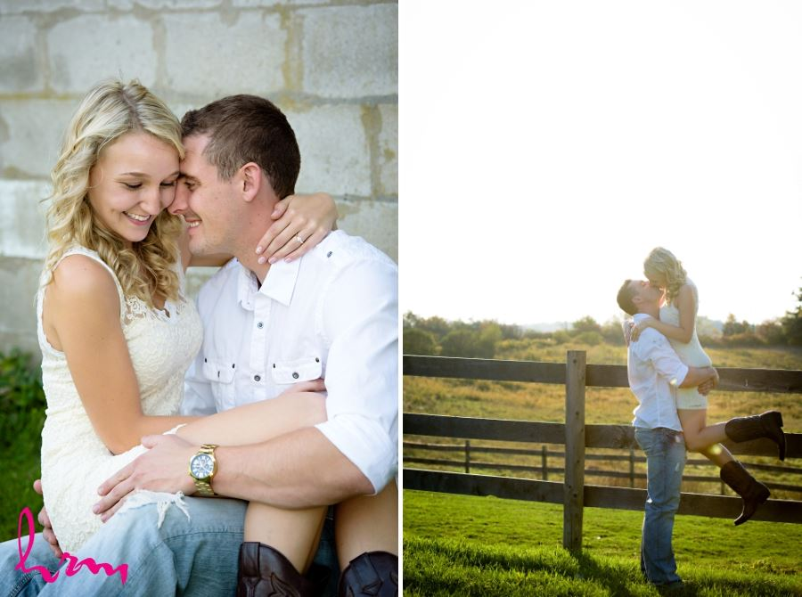 london ontario farm engagement session