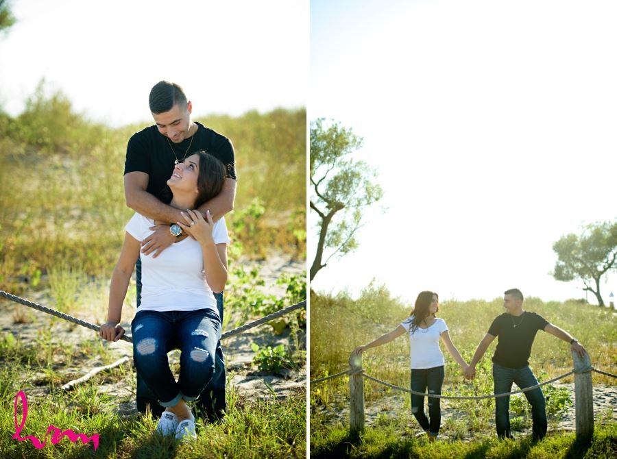 Port Stanley Ontario engagement session photos