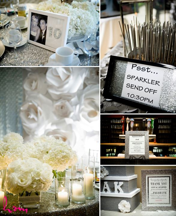 Photos of table settings taken by London Ontario wedding photographer