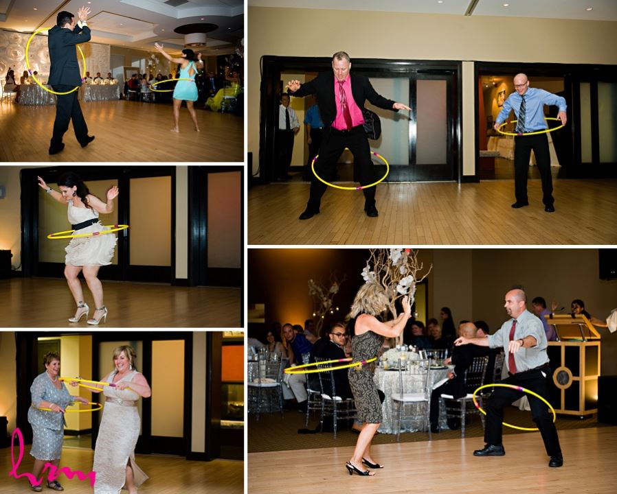 Photos of wedding guests having fun taken by London Ontario wedding photographer