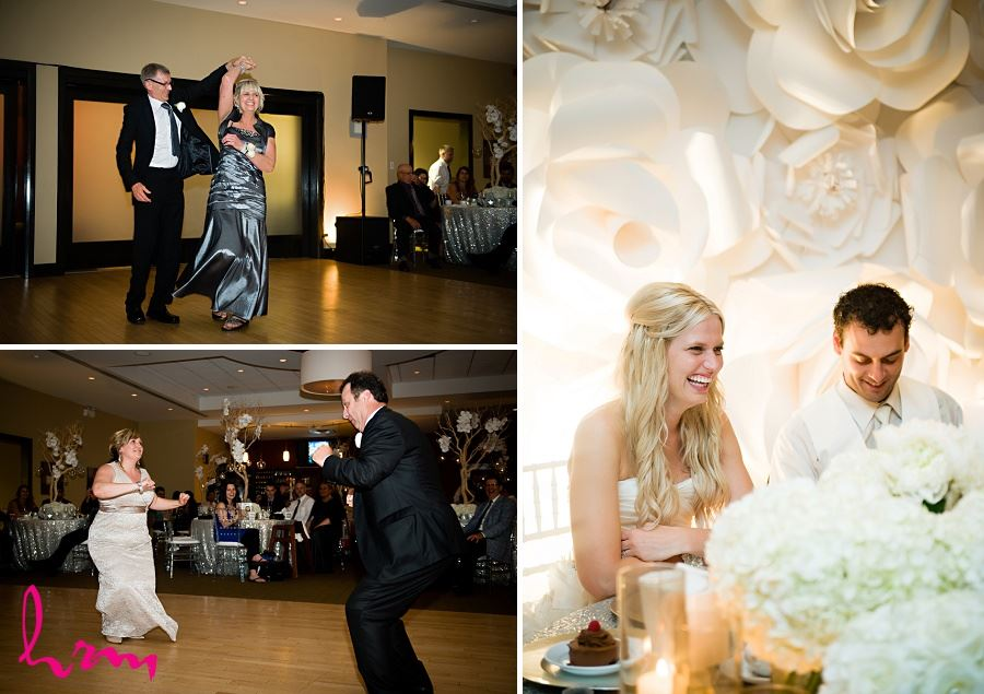 Pictures of couples dancing taken by London Ontario wedding photographer