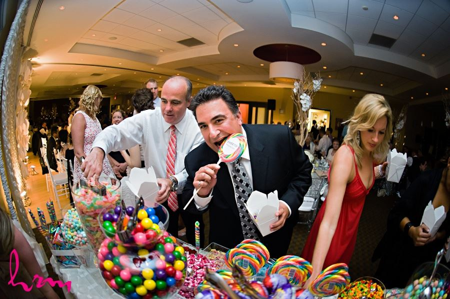 Photos of candy buffet taken by London Ontario wedding photographer